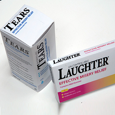 Laughter is a strong medicine for mind and body